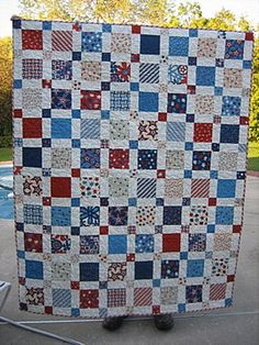 Happy 4th of July Quilt by mamacjt, via Flickr