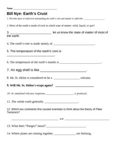 Worksheets Science Video Worksheets worksheets plates and activities on pinterest