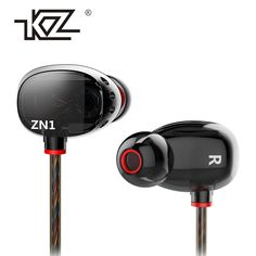 Discount! US $10.99  Earphone KZ ZN1 In Earphone Interactive With Microphone High-End Mobile Music Enthusiast Q Value Headset Ear fone de ouvido  Available latest products: Samsung