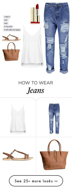 """""""Untitled #3425"""" by adi-pollak on Polyvore featuring Boohoo, Topshop and H&M"""