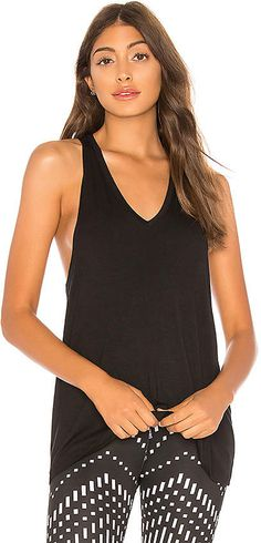 ad9c6bc4fa6e Shop for Beyond Yoga Twisted Racerback Tank in Black at REVOLVE.