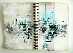 art-journal episode#7_ Scrap of Elegance, 'Raindrop on Roses' kit of august_ Stéphanie Papin