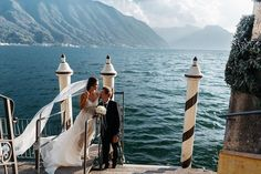 Natalie and Dmitrys wedding day took place in one of the most beautiful places on the planet Earth ive been to Lake Como (Lago di Como). It started with a boat trip to the Villa del Balbianello the place where the most romantic scenes of James Bond Casino Royale and Star Wars: Episode II was filmed. Beautiful sunset ceremony on the villa terrace and cosy family candlelight dinner at Lenno small town nearby. What a day! #fontanawedding #antonwelt #lagodicomo #comolake #villadelbalbianello…