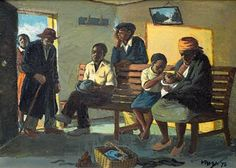 Find artworks by George Pemba (South African, 1912 - on MutualArt and find more works from galleries, museums and auction houses worldwide. South Africa Art, Social Realism, African Art, Art And Architecture, Waiting, Museum, Artists, Gallery, Artwork