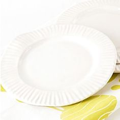 Really into these - but they're a little too expensive for my budget...  Porcelain Paper Plate Large now featured on Fab.