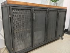 The Edwin Industrial Office Credenza/ Media console/ kitchen