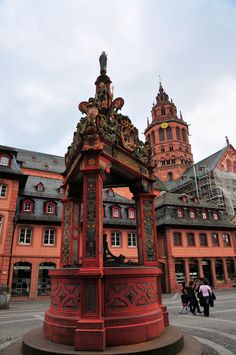 Mainz Cathedral and Market Square
