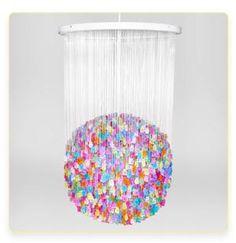 gummy bear chandelier!