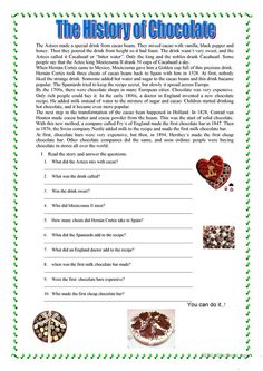 Reading Comprehension - English ESL Worksheets for distance learning and physical classrooms Teaching English Grammar, English Grammar Worksheets, School Worksheets, English Vocabulary, Printable Worksheets, Free Printable, Mini Reading, English Reading, Free Reading Comprehension Worksheets