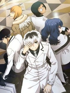 Tokyo Ghoul re Anime Wallpaper