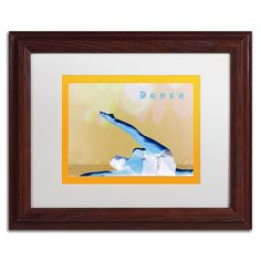 'Dance' by Patty Tuggle Framed Graphic Art