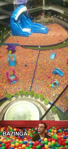 Mother of all ball pits!! :D