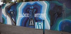https://flic.kr/p/G7fJvD   Siêncio Interno mural feito na Greco Design - BH