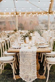 30 Pretty And Cheap Boho Decor For Wedding ❤ cheap boho decor reception transpend tent laurenscotti #weddingforward #wedding #bride