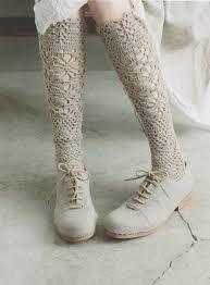Resultado de imagem para socks crochet