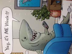 @Ally Konz LIKE A GREAT WHITE SHARK ON SHARK WEEK... RAHHHH!!!!!