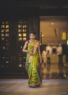 Over - Kanjivaram / Saree Store: Fashion South Indian Wedding Saree, South Indian Sarees, Indian Silk Sarees, South Indian Bride, Saree Wedding, Indian Bridal, Bridal Sarees, Indian Weddings, Engagement Saree