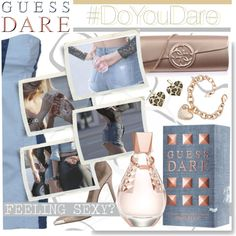 """Do You Dare with GUESS Dare: Contest Entry"" by serepunky on Polyvore"