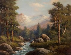 'Mountain Landscape' by Robert William Wood