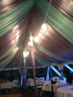 My First Event!!         Creative De'Sign  Tent Draping