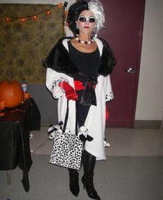 disfraces caseros para halloween mujer cruella