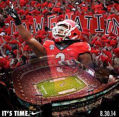 Todd Gurley of Georgia Bulldogs!! Ga Bulldogs Football 97a014cb8