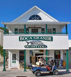 Boca Grande, Florida near Pine Island. Love this place has a whole section of Vera Bradley stuff.