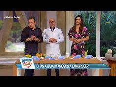 Médico mostra chás que ajudam famosos a emagrecer: Chá é remédio!