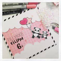 Mit Kammer - Tillykke - Happy birthday - Pandamonium - Mama Elephant