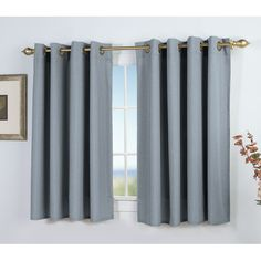You'll love the Glasgow Short Single Curtain Panel at Wayfair - Great Deals on all Décor  products with Free Shipping on most stuff, even the big stuff.