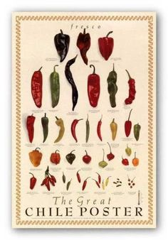 Cool Food Posters Starring Hot Peppers - PepperScale