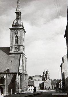 Dóm sv. Martina a synagóga