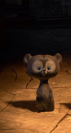 Adorable bear from Brave. Brave Wallpaper, Cute Disney Wallpaper, Pig Wallpaper, Cute Backgrounds, Cute Wallpapers, Iphone Wallpapers, Dreamworks, Whatsapp Wallpaper, Disney And More