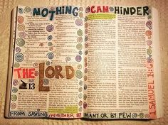 Nothing can hinder the Lord from saving, whether by many or by few... 1 Samuel 14:6 Your HOPE is in Jesus.