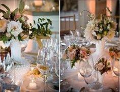 Milk glass wedding 2