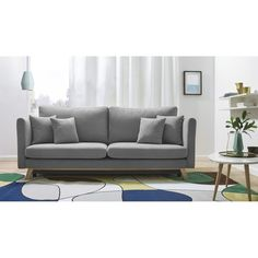 Hashtag Home Schlafsofa Kabir 4 Seater Sofa Bed, Divan Sofa, Samsung Galaxy Wallpaper, Sofas, My Living Room, Furniture Decor, Love Seat, House Styles, Sweet Home