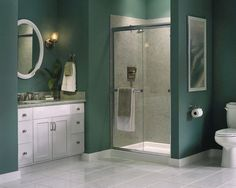 Teal Bathroom Design, Pictures, Remodel, Decor and Ideas