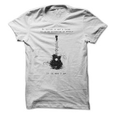 Guitar is my life - and other music t shirts on http://www.sunfrogshirts.com/qwd/Music-T-Shirts?45842