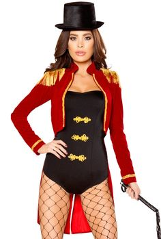 Roma female circus Ringleader romper costume in Clothing, Shoes & Accessories, Costumes, Reenactment, Theater, Costumes | eBay