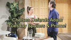 The Young and the Restless Spoilers: Tuesday, January 30 - Tessa Begs Mariah's Forgiveness - Chelsea Rushes to Defend Adam