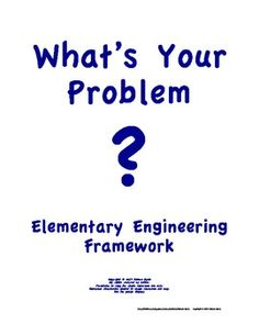 FREE Elementary Engineering Framework What's Your Problem? NGSS Science Inquiry, Science Daily, Stem Science, Weird Science, Physical Science, Teaching Science, Science Education, Steam Activities, Science Activities