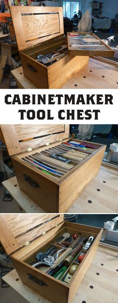 Build the perfect toolchest for any cabinetmaker.