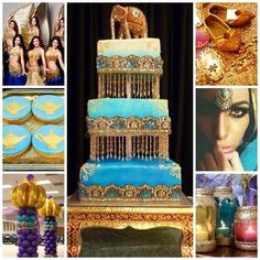 Quince Candles: Arabian Nights / Moroccan Sweet Fifteen Theme