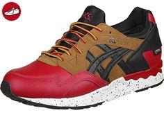 Asics Gel-Lyte V G-TX Schuhe 5,5 red/black - Asics schuhe (*Partner-Link)
