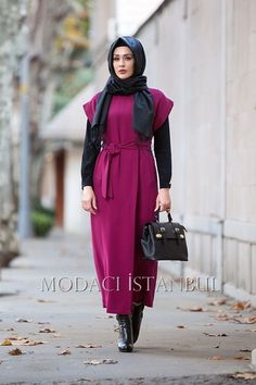MÜRDÜM MİMYA ZARİF YELEK Turkish Style, Turkish Fashion, Islamic Fashion, Muslim Fashion, Modest Fashion, Unique Fashion, Hijab Fashion, Love Fashion, Fashion Trends