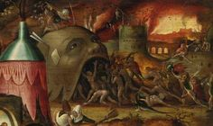 Jan Mandyn (c. 1500-1560), The Harrowing of Hell.