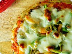 Con pan y postre: Falsa pizza de patatas o pastel de patata tipo piz...