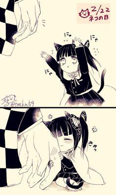 Anime Angel, Anime Demon, Manga Anime, Cute Anime Chibi, Kawaii Anime Girl, Anime Art Girl, Slayer Meme, Demon Slayer, Anime Comics