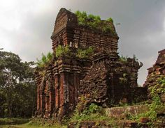 The Cham created the great temples at Ankor Wat in Cambodia and a string of towers across Vietnam.