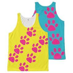 Dog Paws Unisex Tank Tops - Gifts - Summerwear